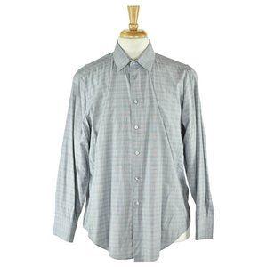 Calvin Klein Button Down Shirt 32 Grey